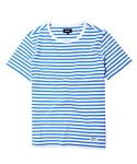 SHORT SLEEVE STRIPE T-SHIRT[WT/BL]
