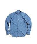 Standing Denim Work Shirt