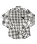 UTS 08 cotton check shirts_black(남여공용)