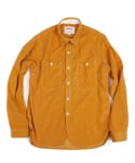 Swellmob round cut shirts -mustard-