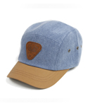 UHG 51 triangle patch camping cap_denim blue(남여공용)