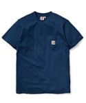 SS POCKET T-SHIRT BLUE