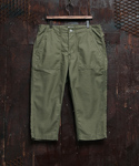 FATIGUE CROPPED PATNS OLIVE