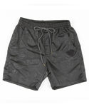 UTP 61 drawstring bermuda shorts_charcoal