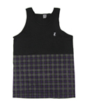 플라잉 커핀(FLYING COFFIN) PLAID TANK
