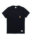 Anchor pocket tee (Navy)