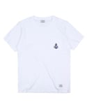 Anchor pocket tee (White)