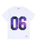 Galaxy tee (White)