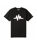 PULSATION TEE ver.2 -BLACK/WHITE-