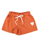 UTP 68 drawstring linen shorts_orange(여성용)