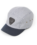 UHG 52 triangle patch camping cap_navy stripe(남여공용)