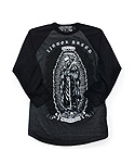 리쿼브랜드(LIQUOR BRAND) SAN MUERTE DUO RAGLAN 3/4 MEN