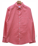 스와인즈() Chambrey shirts cobalt red