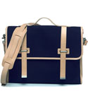 모베가르송(MAUVAIS GARCONS) MV 2STRAP CROSS BAG - (Navy)