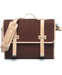 모베가르송(MAUVAIS GARCONS) MV 2STRAP CROSS BAG - (Brown)