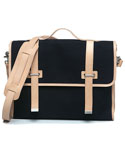 모베가르송(MAUVAIS GARCONS) MV 2STRAP CROSS BAG - (Black)
