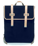 모베가르송(MAUVAIS GARCONS) MV 2STRAP BACKPACK (SOFT) - (Navy)