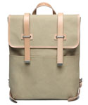 모베가르송(MAUVAIS GARCONS) MV 2STRAP BACKPACK (SOFT) - (Beige)