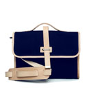 MV SATCHEL BAG - (Navy)