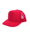 오토캡(OTTO CAP) 5 Panel Pro Mesh Back (Red)
