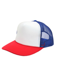 오토캡(OTTO CAP) 5 Panel Pro Mesh Back (Red/Wht/Ryl)