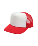오토캡(OTTO CAP) 5 Panel Pro Mesh Back (Red/Wht/Red)