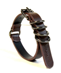 Genuine Leather bracelet - brown