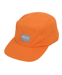 Old School Orange 5 Panel Cap