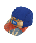 스컬스(SKULLS) Blue suede 5 Panel Cap