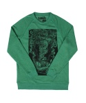 애쉬버리(ASHBURY) KARMA CREWNECK GREEN