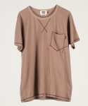 스티치티셔츠 Stitch T-Shirt  BROWN