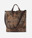 CLOUD CAMO MARKET BAG BROWN