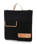 MV 2WAY POSTBAG - (Black)