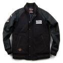 SP Melton Stadium Jacket-Black