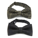 UTA 08 untage signature clip-on bow tie