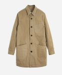 CORDRAIN SHOP COAT BEIGE