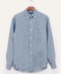 Linen blue shirts