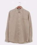 스와인즈(SWYNES) Beige Cotton Shirts
