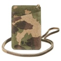 콜록(KOLOK) WOOD CAMO CARD CASE_KHAKI
