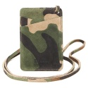 콜록(KOLOK) GENTLE CAMO CARD CASE_GREEN