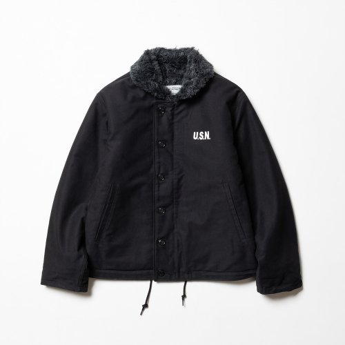 "와이엠씨엘케이와이(YMCL KY) YMCL KY US Type N-1 Deck Jacket ""Black"""