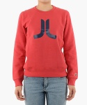 위에스씨(WESC) (D4)Icon(ladies′ crewneck.candy apple)
