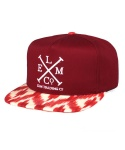 SANTA FE SNAP BACK CARDINAL RED