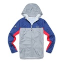COLOR BLOCK WIND BREAKER (GRAY)