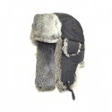 SUPPLEX BOMBER grey w/Grey Fur
