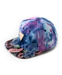 TIE DYED JUNGLE SNAKE STRAPBACK