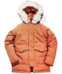 WORKS HUNTER PARKA (orange)