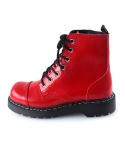 티유케이(T.U.K) T2182 Red Smooth Leather Toe Cap 7 Eye Boot