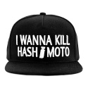 바알(BAAL) BAAL I WANNA KILL HASH*MOTO SNAPBACK