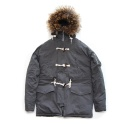에이지(AZ) AZ HEAVY COTTON N3B PARKA - GRAY